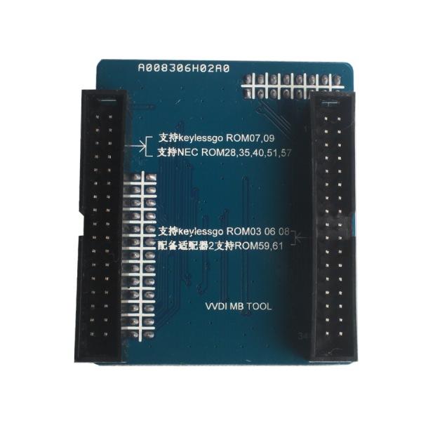 One year free Tokens Xhorse VVDI MB BGA TooL V5.0.3 Benz Key Programmer Including BGA Calculator Function