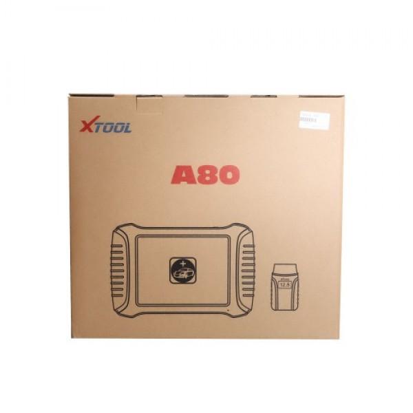 XTOOL A80 H6 Full System Car Diagnostic tool Car OBDII Odometer adjustment/Car Repair Tool Vehicle Programming
