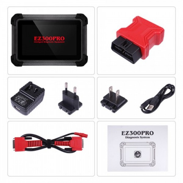 XTOOL EZ300 PRO With 5 Systems Diagnosis Tool