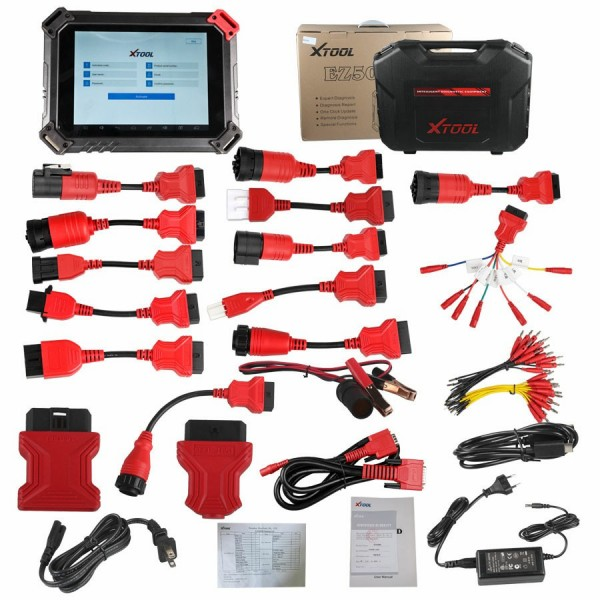 XTOOL EZ500 HD Heavy Duty Full System Diagnostic Tool Same Function as XTOOL PS80 HD