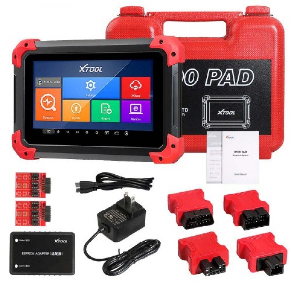 XTOOL X100 PAD Key Programmer With Oil Rest Tool