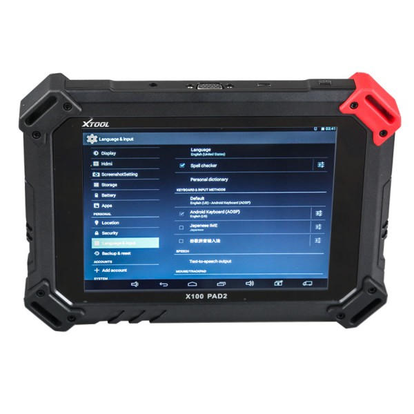 XTOOL X-100 PAD2 Full Version with Expert Special Functions with VW 4th & 5th IMMO
