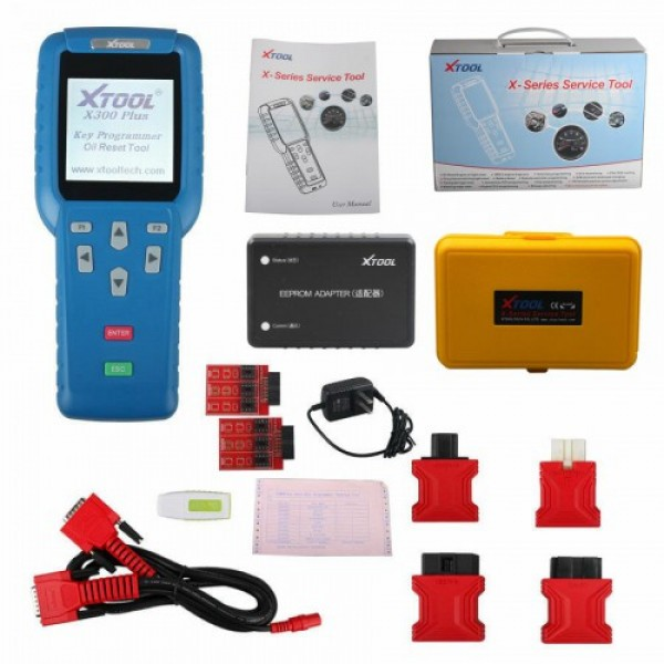 XTOOL X300 Plus X300+ Auto Key Programmer with EEPROM Adapter