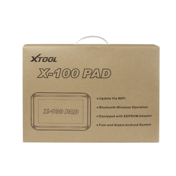 XTOOL X-100 PAD Tablet Key Programmer with EEPROM Adapter