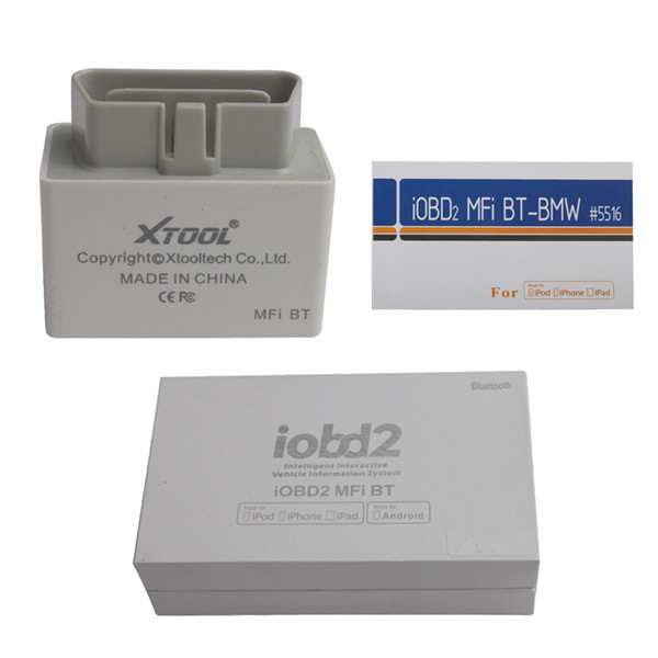 iOBD2 BMW Diagnostic Tool For iPhone/iPad With Bluetooth