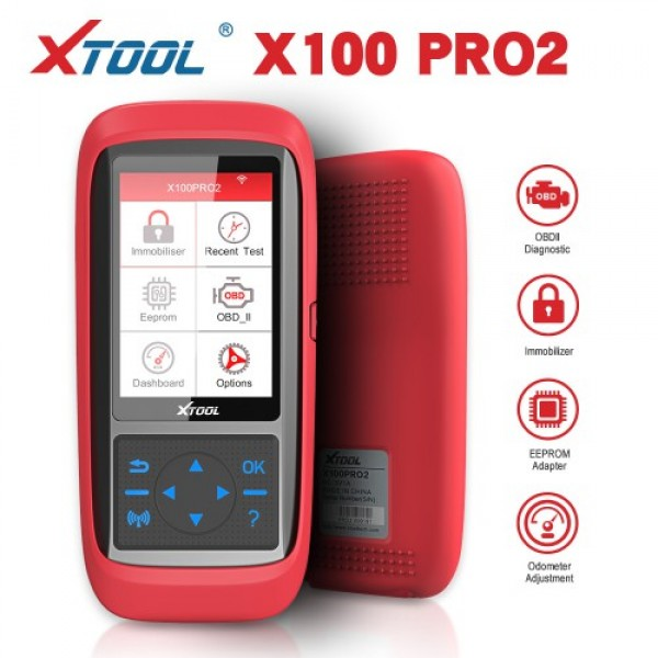 XTOOL X100 Pro2 Auto Key Programmer with EEPROM Adapter