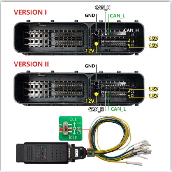 Yanhua Mini ACDP Module19 SH725XX Gearbox Clone