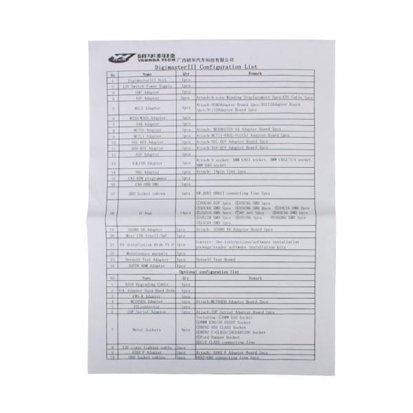 Original Yanhua Digimaster 3 Odometer Correction Master No Token Limitation