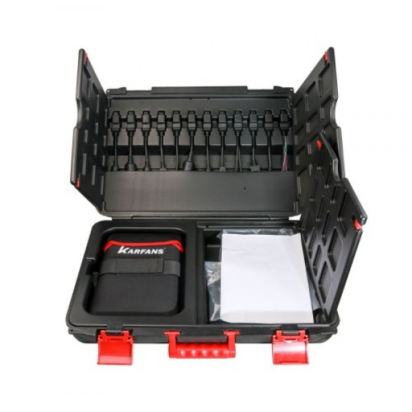 CAR FANS C800+ Diesel & Gasoline Vehicle Diagnostic Tool for Passenger Car,Commercial Vehicle, Machinery with Special Function