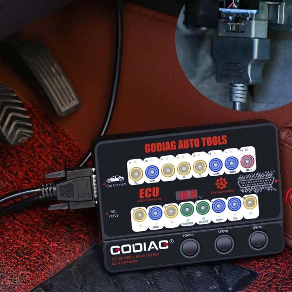 GODIAG GT100 Breakout Box ECU Tool OBD2 Connector