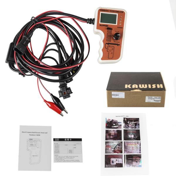 CR508 Common Rail Pressure Tester and Simulator