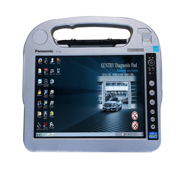 Panasonic CF H2 with I5 4G Memory Touch Screen for Auto diagnostic tools