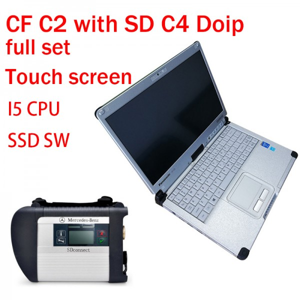 V2019.12 DOIP C4 MB Star SD Connect C4 Support DOIP With CF C2 Laptop