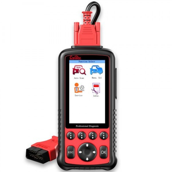 Creator C600 Professional Multi-System Scanner Car Diagnostic Tool
