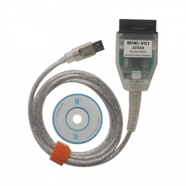 MINI VCI for TOYOTA V14.20.019 Single Cable
