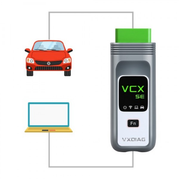 VXDIAG VCX SE For JLR Car Diagnostic Tool without Software