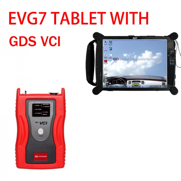EVG7 tablet and Gds vci Tool For Kia & Hyundai