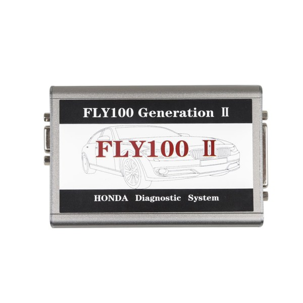 FLY 100 II Generation II V3.016 Honda Scanner Full Version Diagnosis and Key Programming