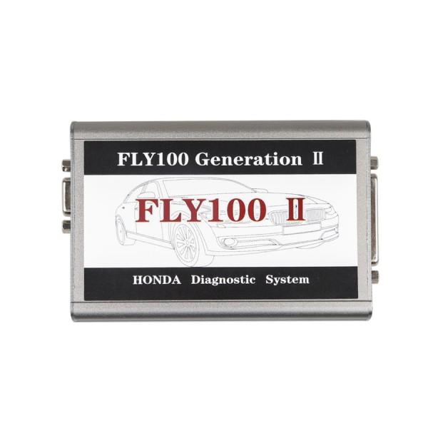 FLY 100 II Generation II V3.016 Honda Scanner Full Version Diagnosis and Key Programming