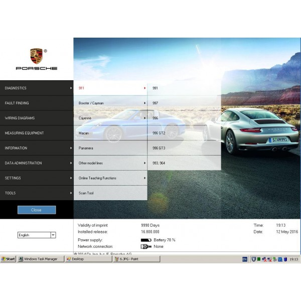 3in1 Benz xentry V2019.09 and Odis Audi VW V5.13 and Porsche Piwis v18.1 hard disk software