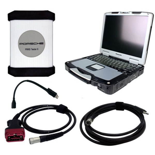 Piwis Tester II with CF30 laptop V18.1 with operating mode Best Quality A+ for Porsche