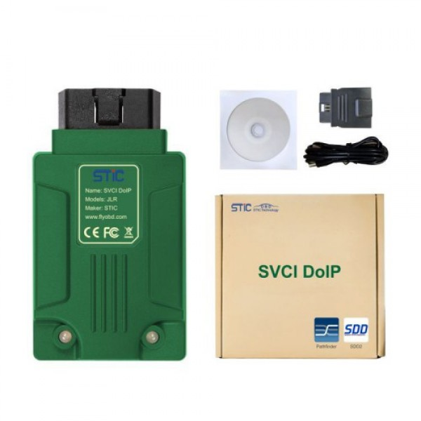 SVCI DoIP JLR Diagnostic Tool with PATHFINDER & JLR SDD V156 with Online Programming Function for Jaguar Land Rover 2005-2019