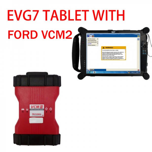 EVG7 tablet and vcm2 V115 for ford ready to use
