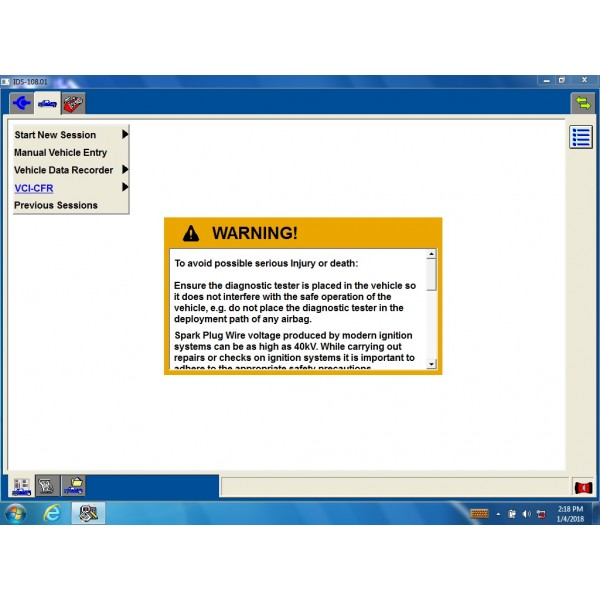 VCM IDS II Vcm2 for Ford v113.1 hard disk version for ford