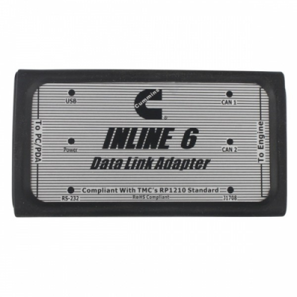 V7.62 INLINE 6 Data Link Adapter Multi-Languages For Cummins