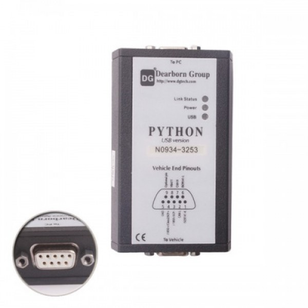 Through all the functions Python Nissan Diesel Special Diagnostic Instrument