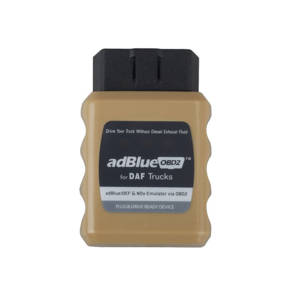 AdBlueOBD2 Emulator For DAF Trucks Verride AD-Blue System Instantly