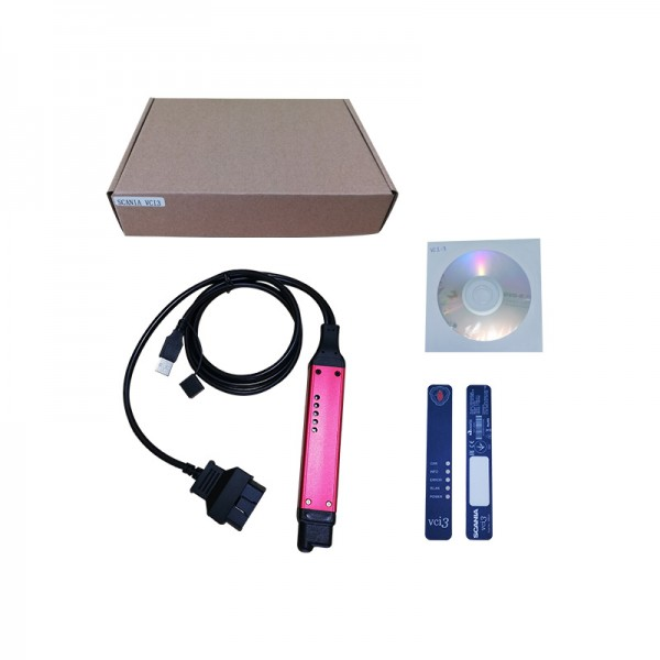 Best Price Wifi Scania VCI-3 VCI3 Scanner Latest V2.39 Diagnostic Tool