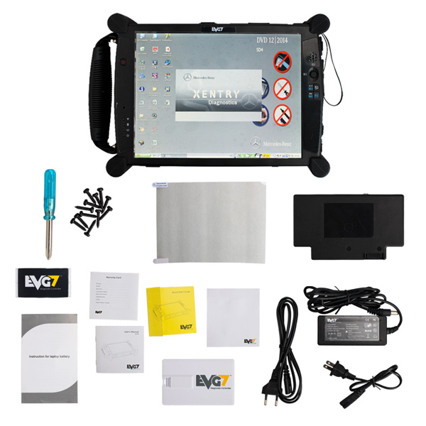 EVG7 DL46 1.8Ghz DDR8GB Memory with Wifi Diagnostic Controller Tablet PC