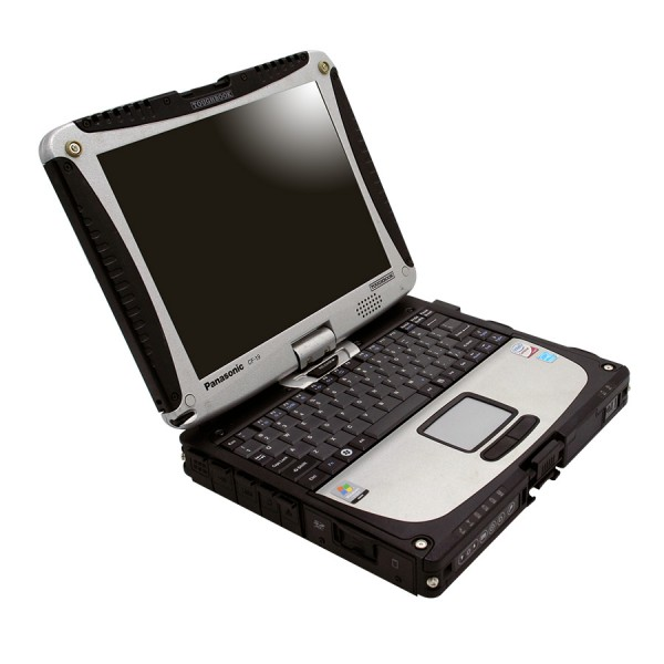 V2021.03 MB SD Connect C4 Compact 4 Star Diagnosis Plus Panasonic CF19 I5 4GB Laptop Software Installed Ready to Use