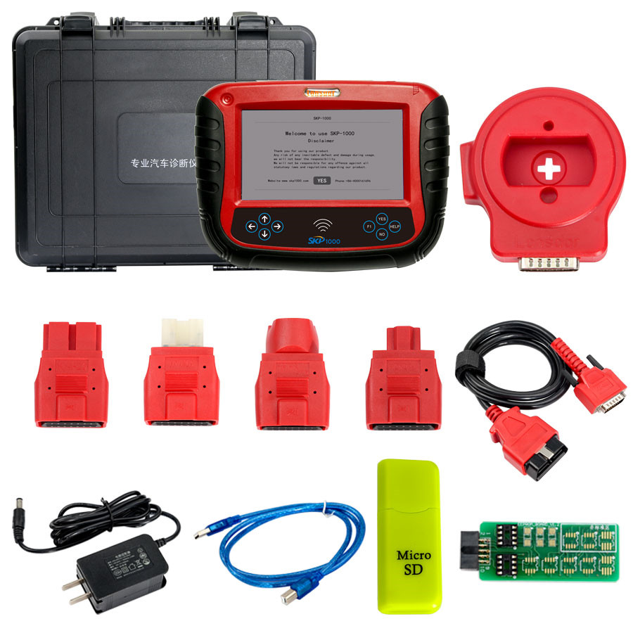 2017 New SKP1000 Tablet Auto Key Programmer With Special functions
