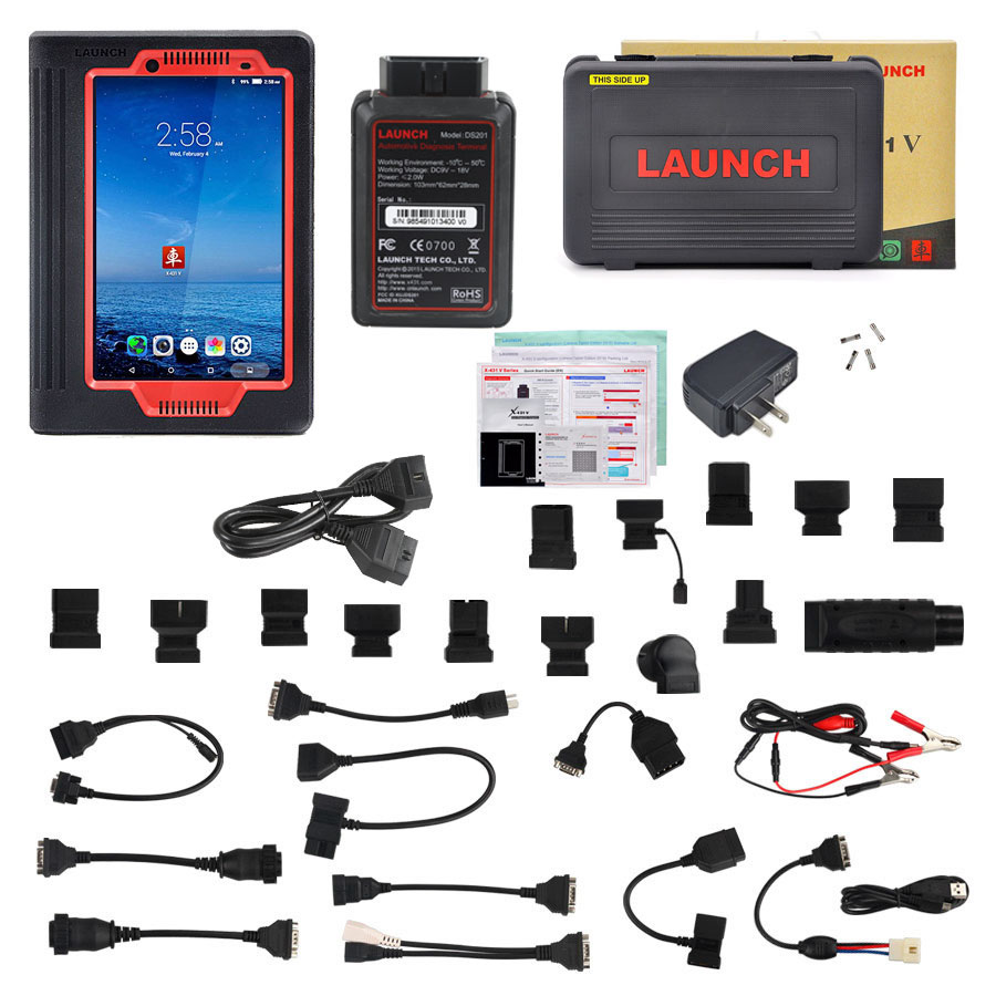 Highly recommandation: Launch X431 V (pro) 8inch Tablet Wifi/Bluetooth Full System Diagnostic Tool
