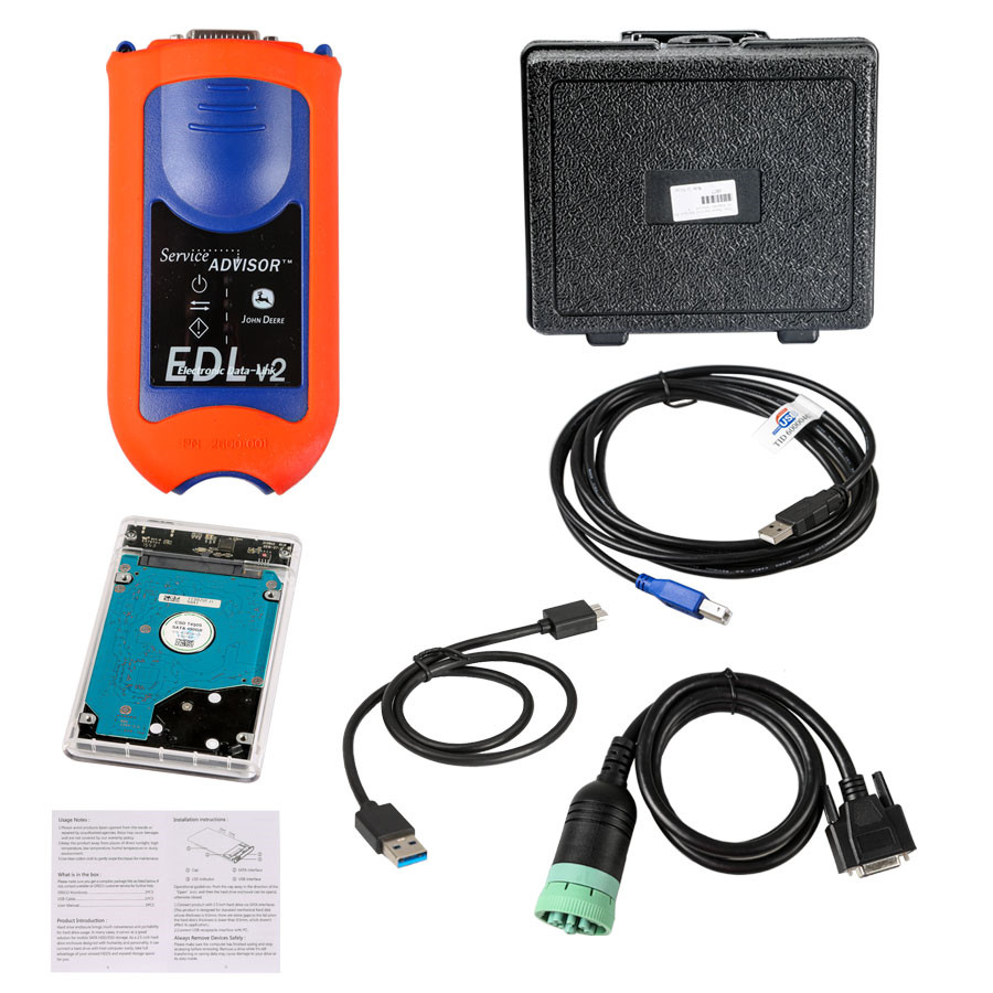 John Deere Service Advisor Edl V2 Diagnostic Kit Gt262 Wiring Diagram